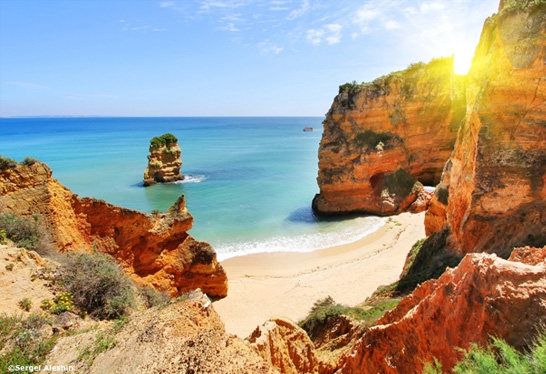 The Algarve area